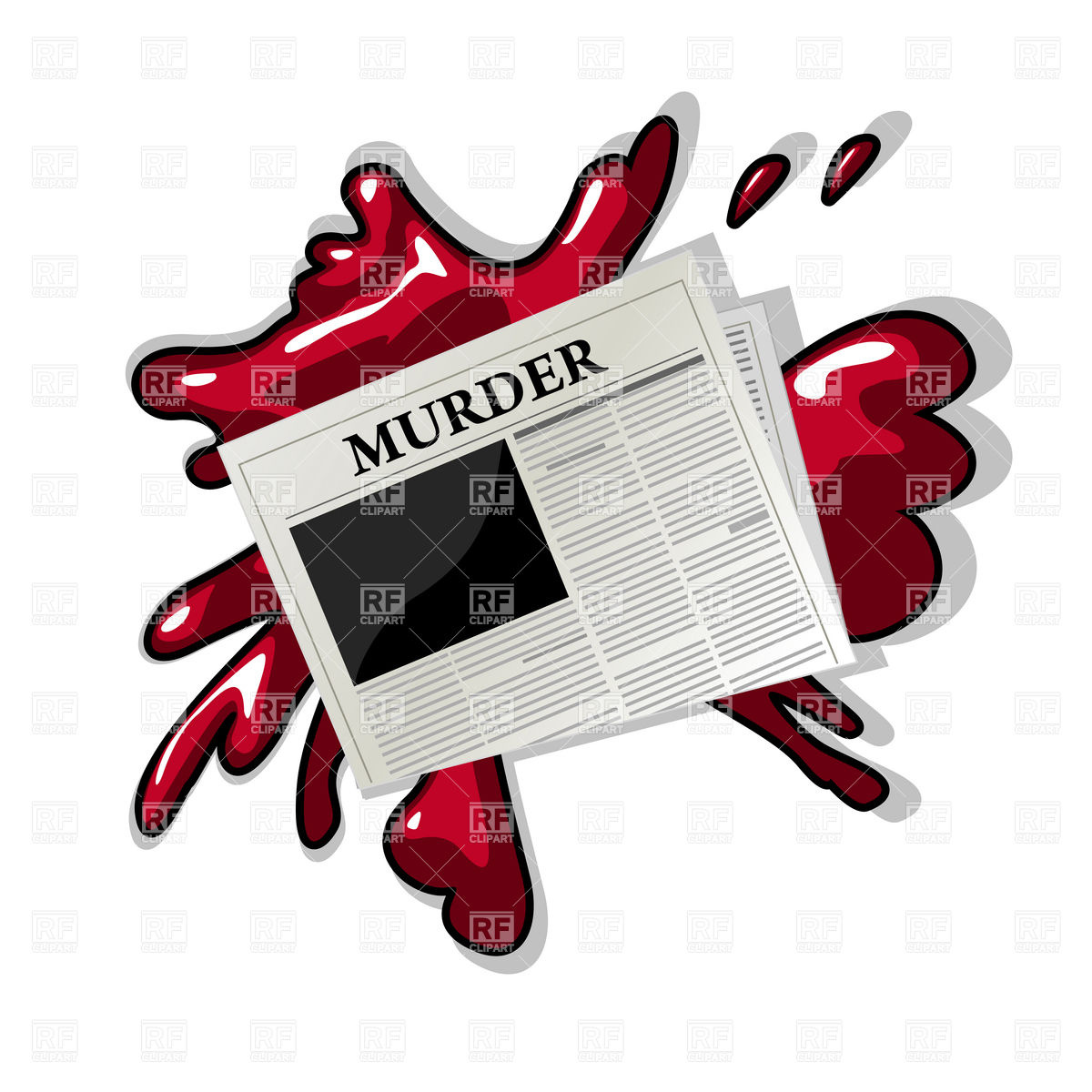 Murder clip art free. Mystery clipart homicide detective
