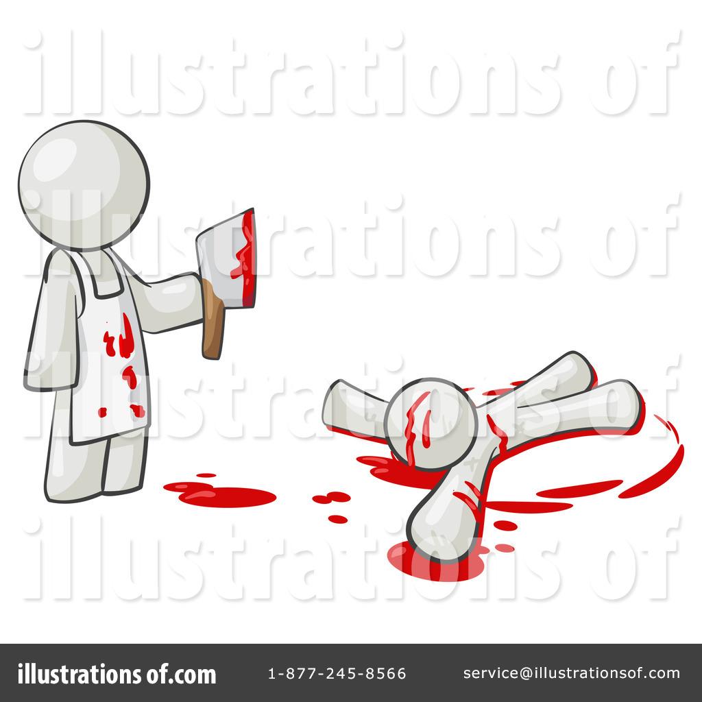 Illustration by leo blanchette. Murder clipart