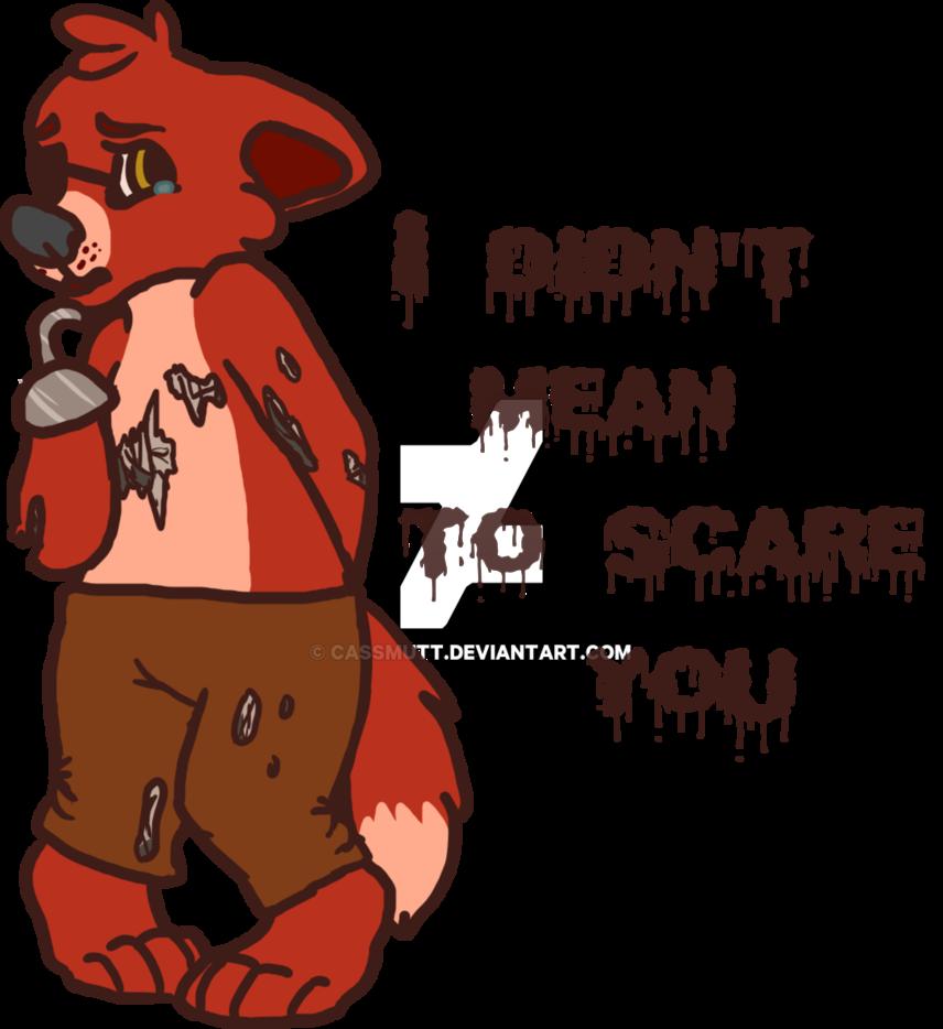 Innocent foxy now available. Surprise clipart shh