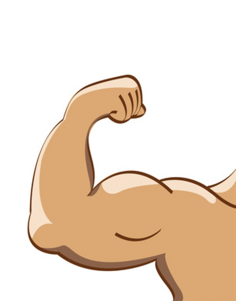 Of arm muscle cartoon. Arms clipart two