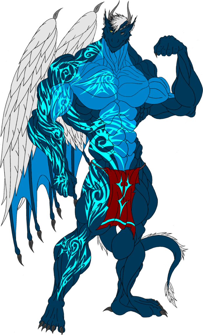Alex eko draconian body. Muscles clipart brawny