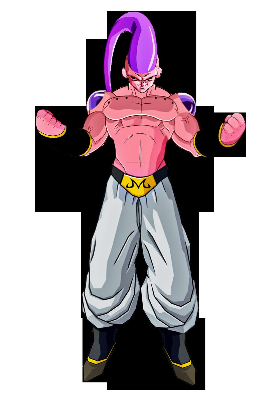 Majin buu character giant. Muscles clipart endurance