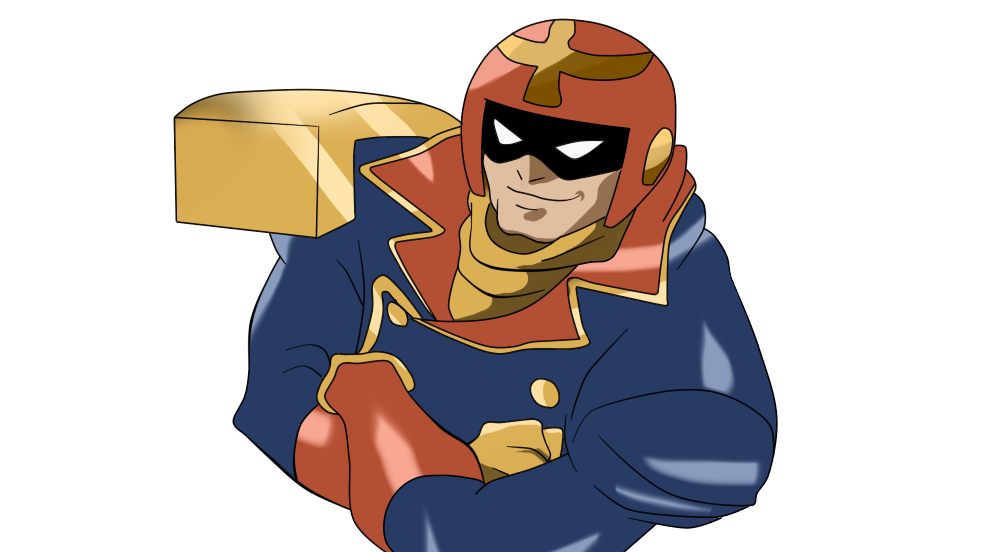 Capitan by darkshadowmm on. Muscle clipart falcon