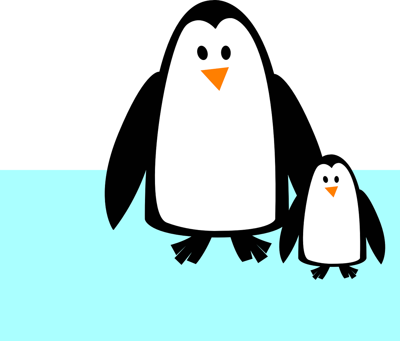 Muscles clipart penguin. Babies can celebrate world