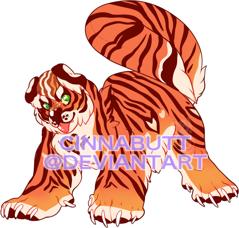Muscles clipart tiger. Zodiac by cinnadog on