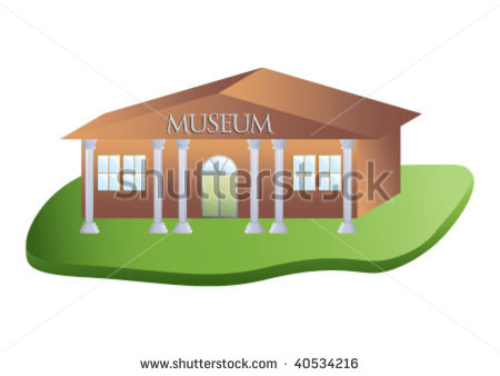Museum clipart. Art building on the