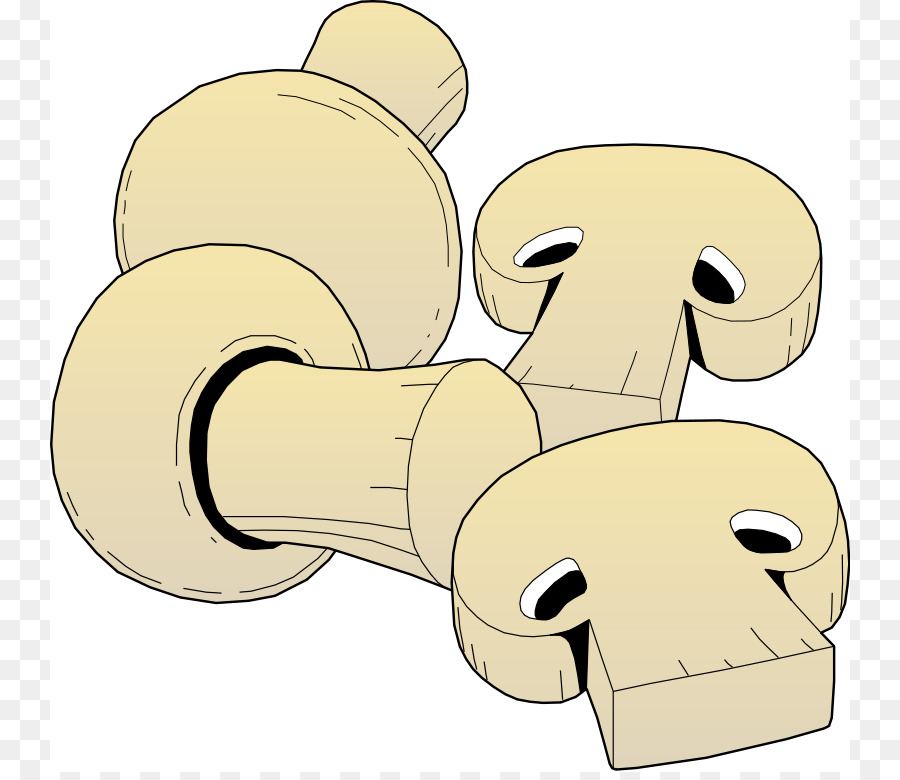 Pizza common edible clip. Mushroom clipart
