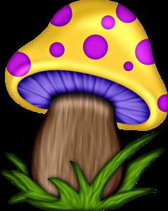 Png mushrooms pinterest clip. Mushroom clipart