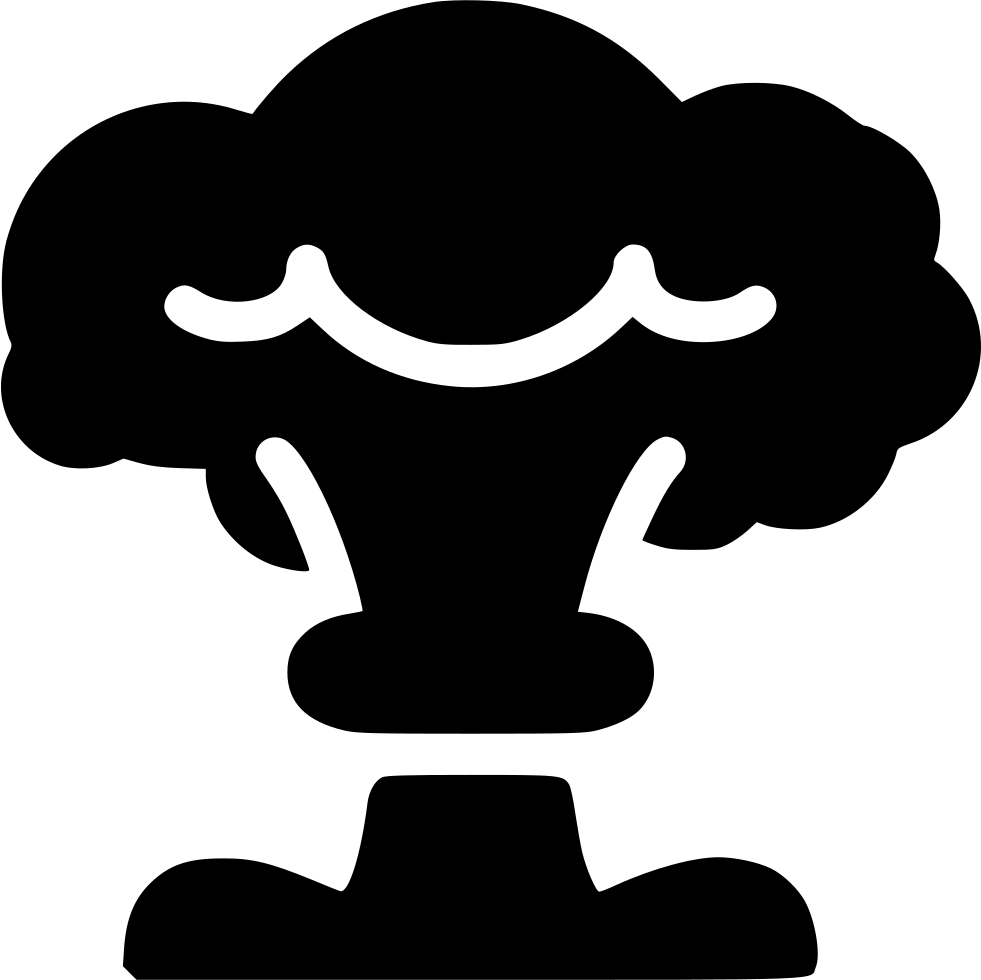 Mushroom clipart cloud. Svg png icon free