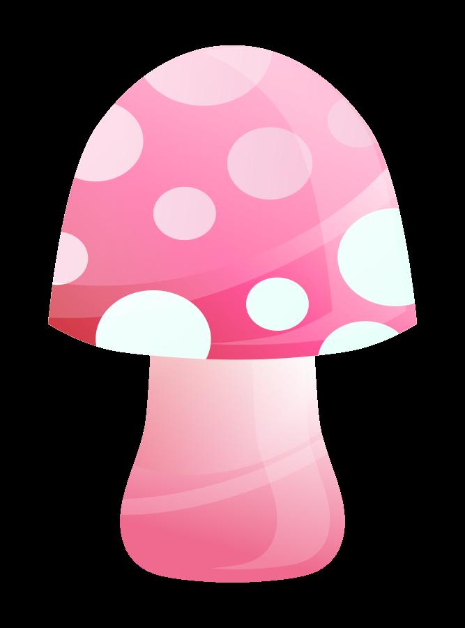 Mushrooms clipart vector. Mushroom clip art online