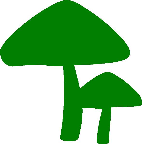 mushrooms clipart green mushroom