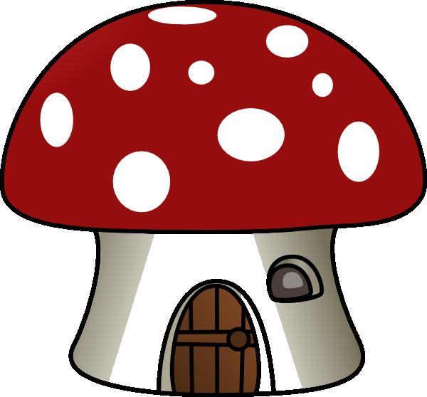 Mushrooms clipart mush. Mushroom house clip art