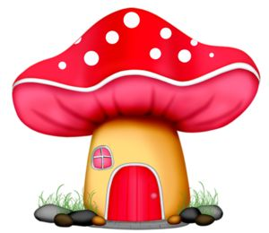 Images about on clip. Mushrooms clipart sweet home