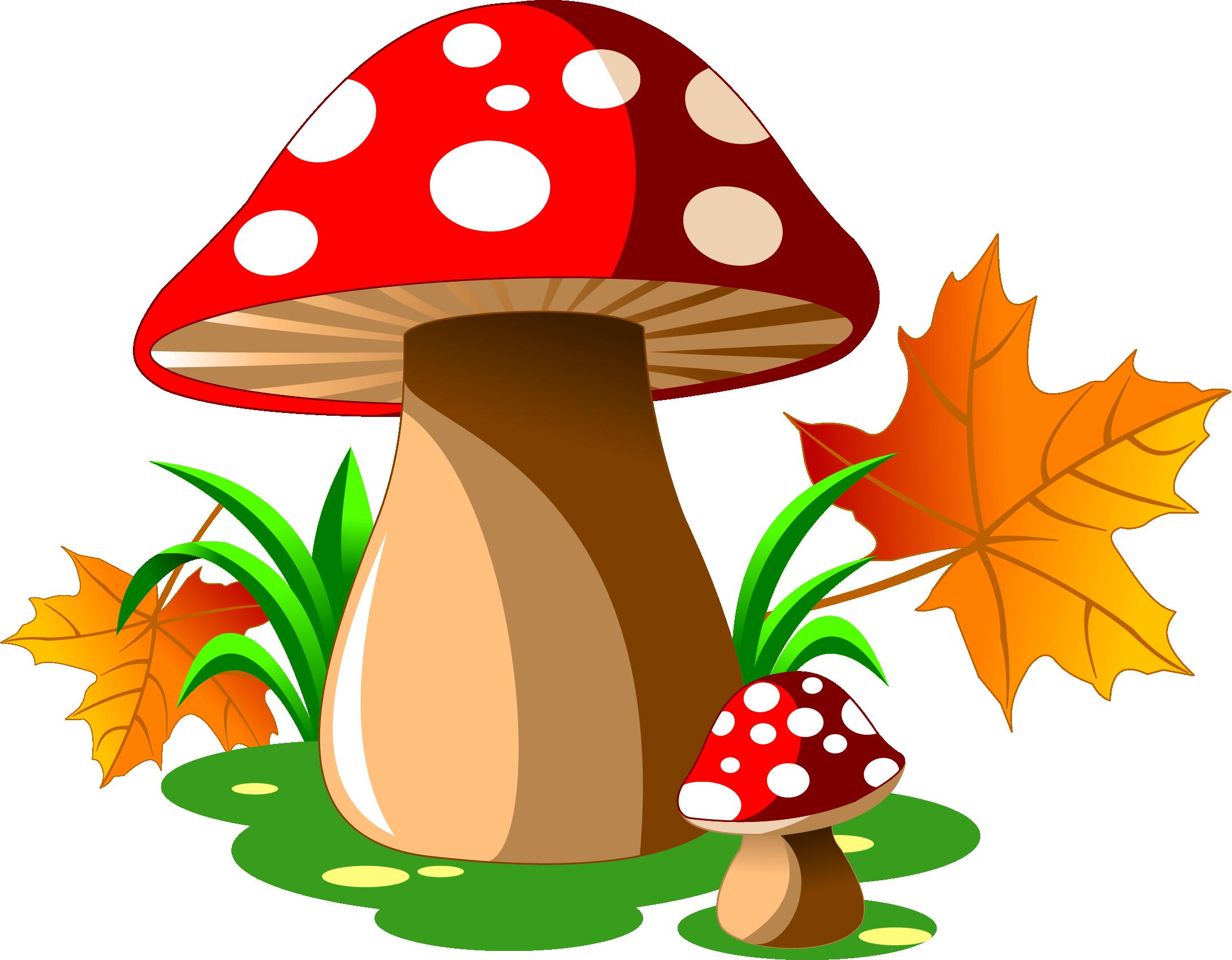 Cartoon royalty free illustration. Mushroom clipart mushroom tree