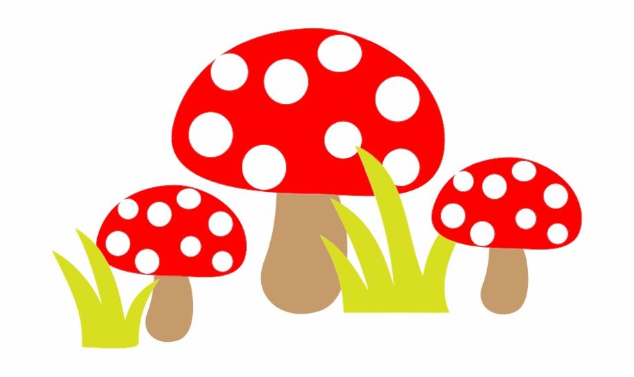 Free simple mushroom clip. Mushrooms clipart cartoon