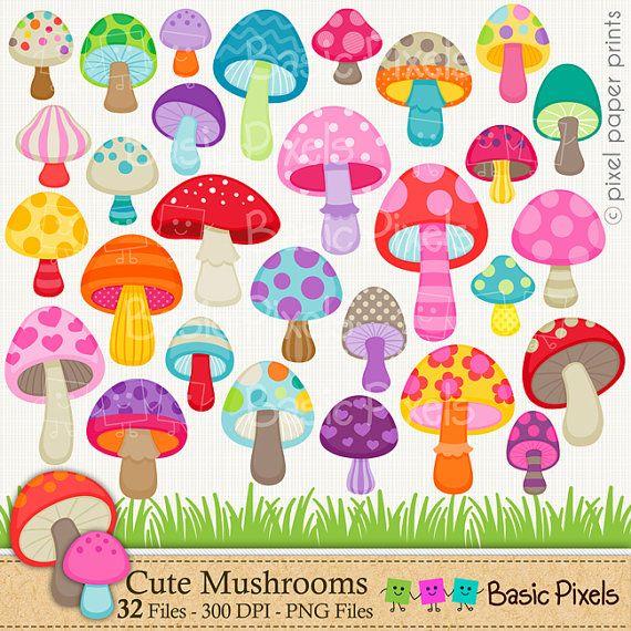 Mushroom clipart printable. Transparent png free download