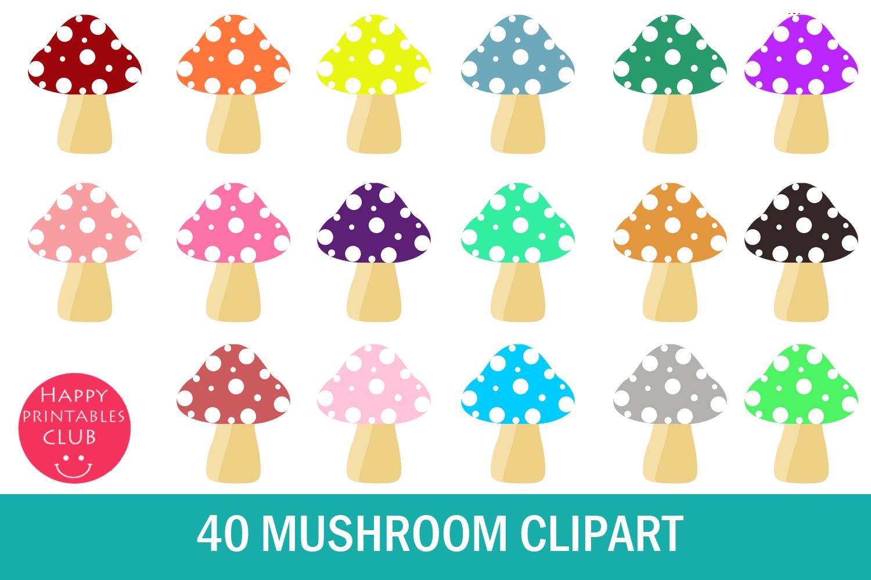 cute png. Mushroom clipart printable