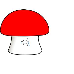 Mushroom cliparts of free. Mushrooms clipart sad
