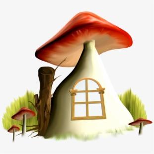 Mushroom clipart sweet home. House animated gif