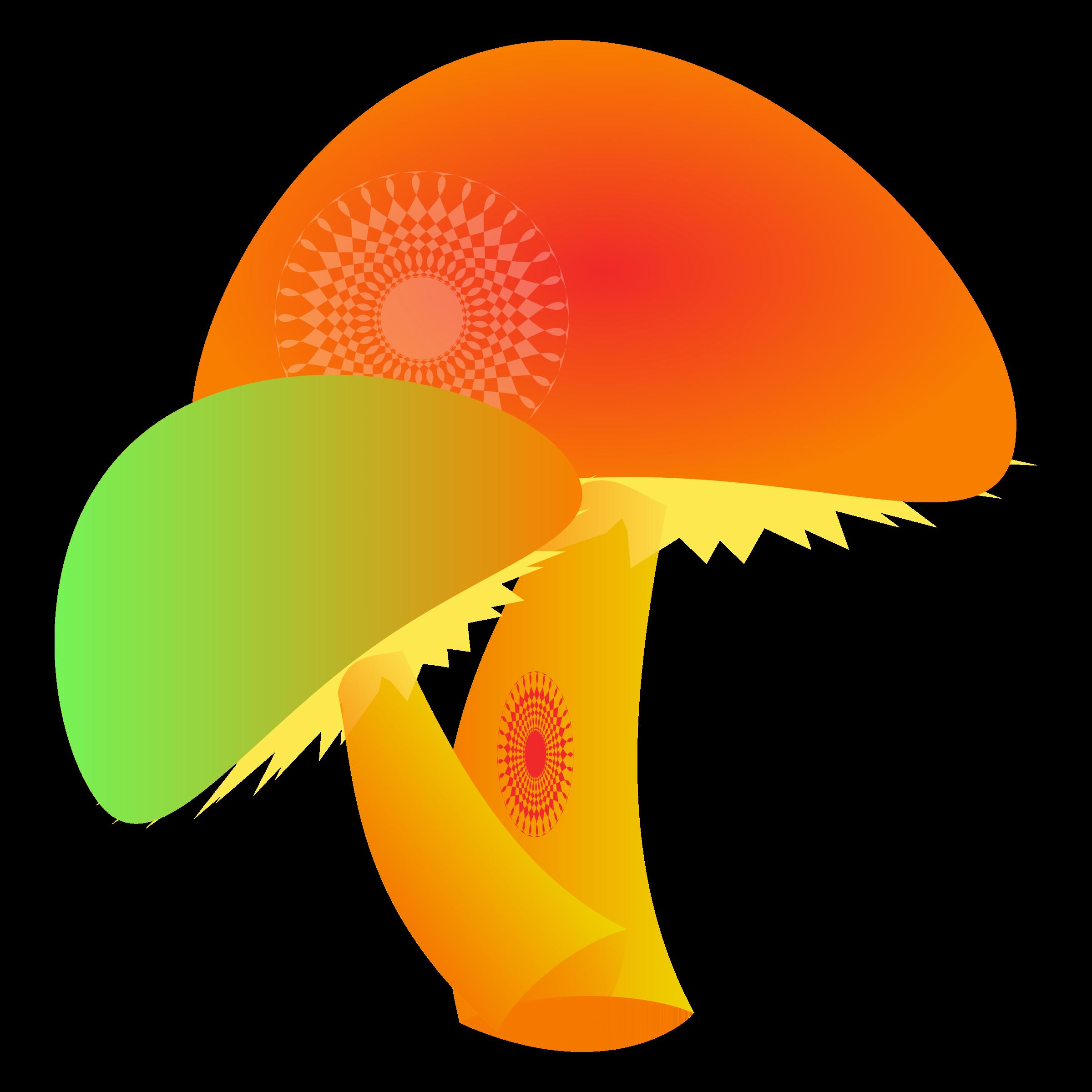 Mushroom yellow mushroom