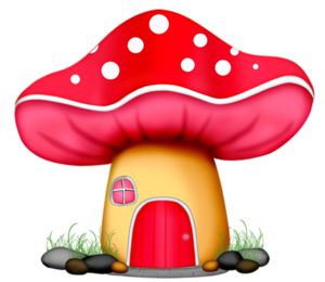 Wp tos fairyhouse png. Mushrooms clipart