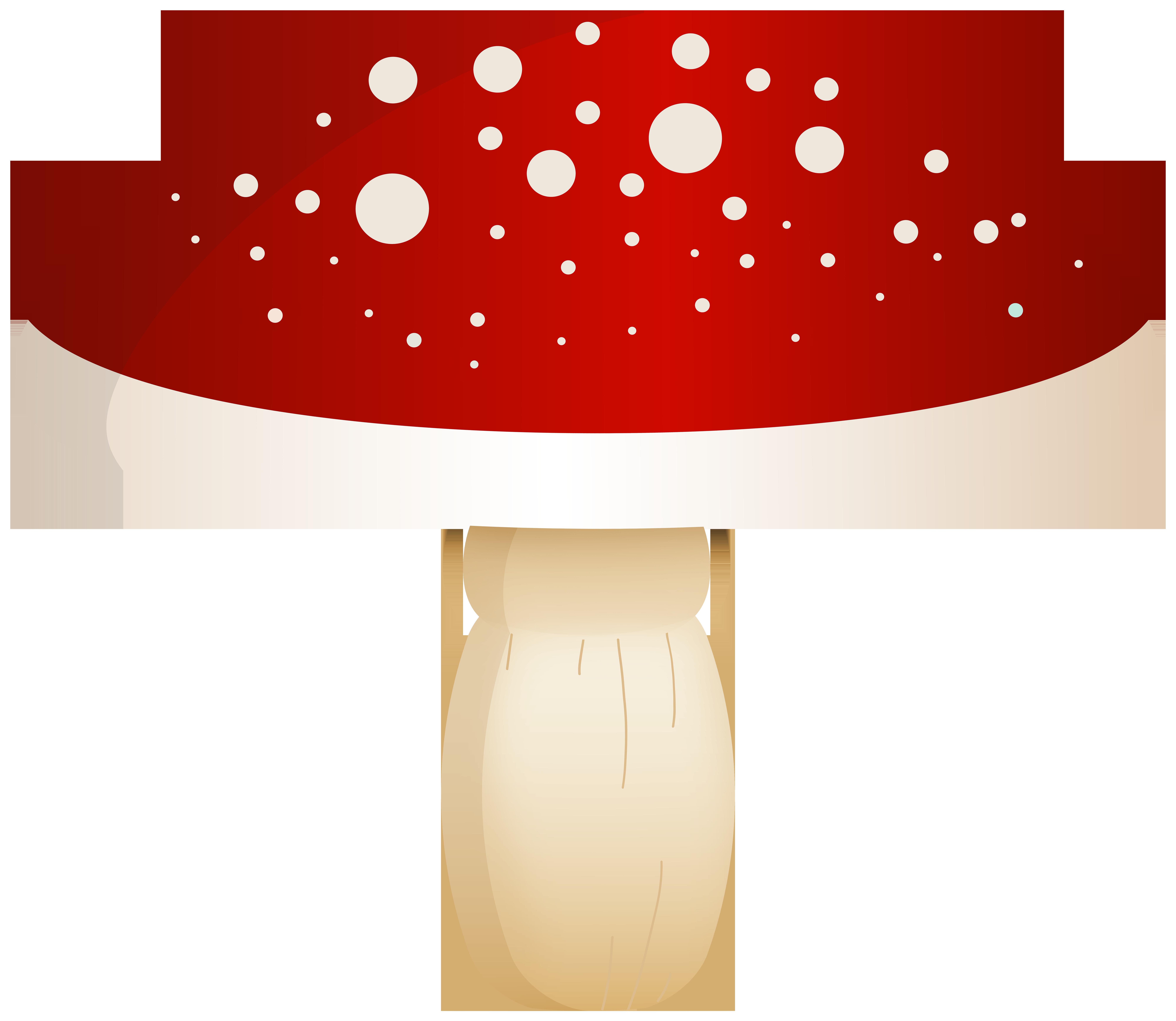Mushrooms clipart eye. Red mushroom with white