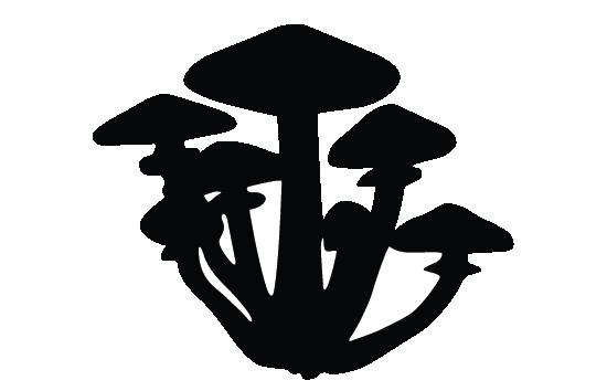 Mushroom clip art pack. Mushrooms clipart silhouette