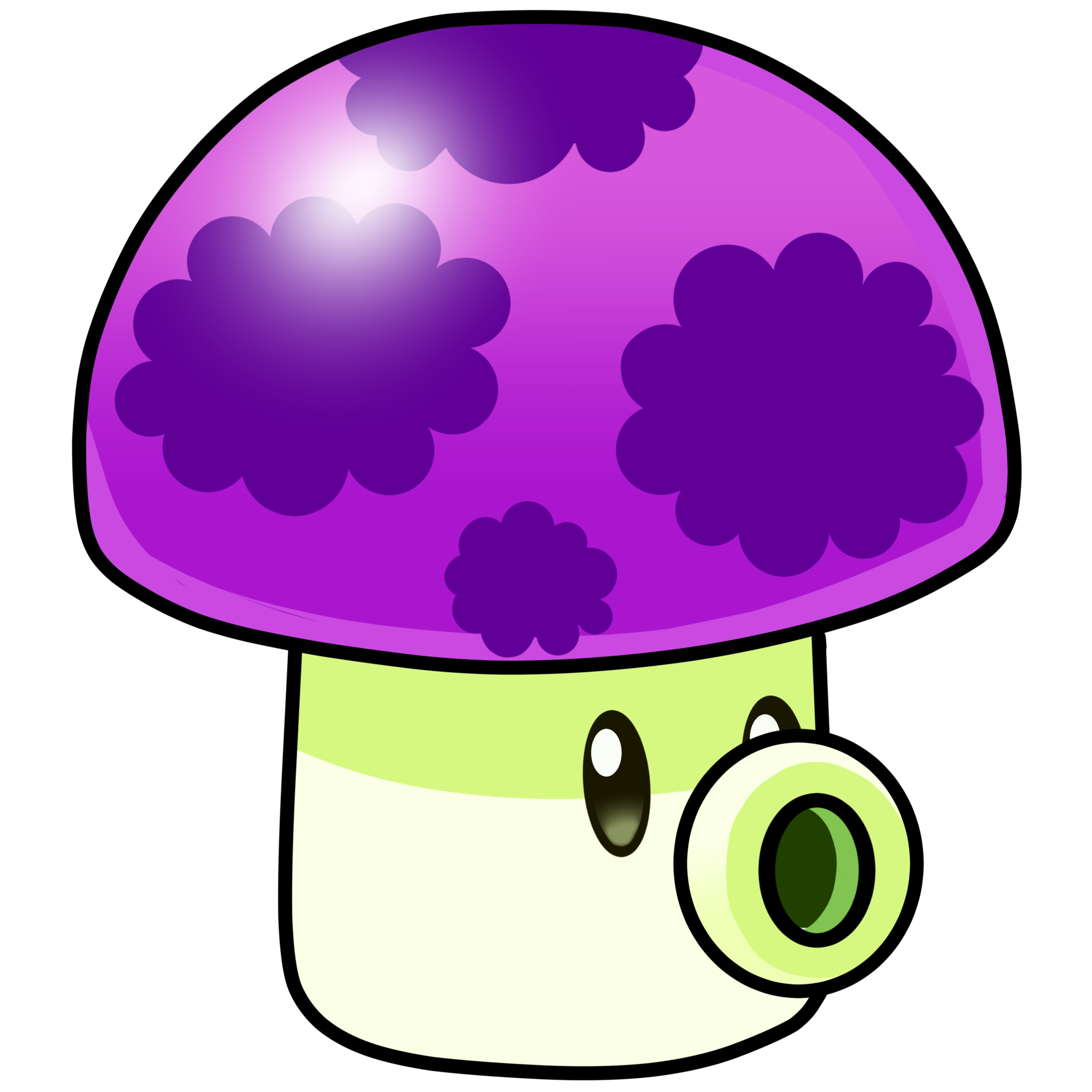 Mushrooms clipart trivia. Puff shroom plants vs