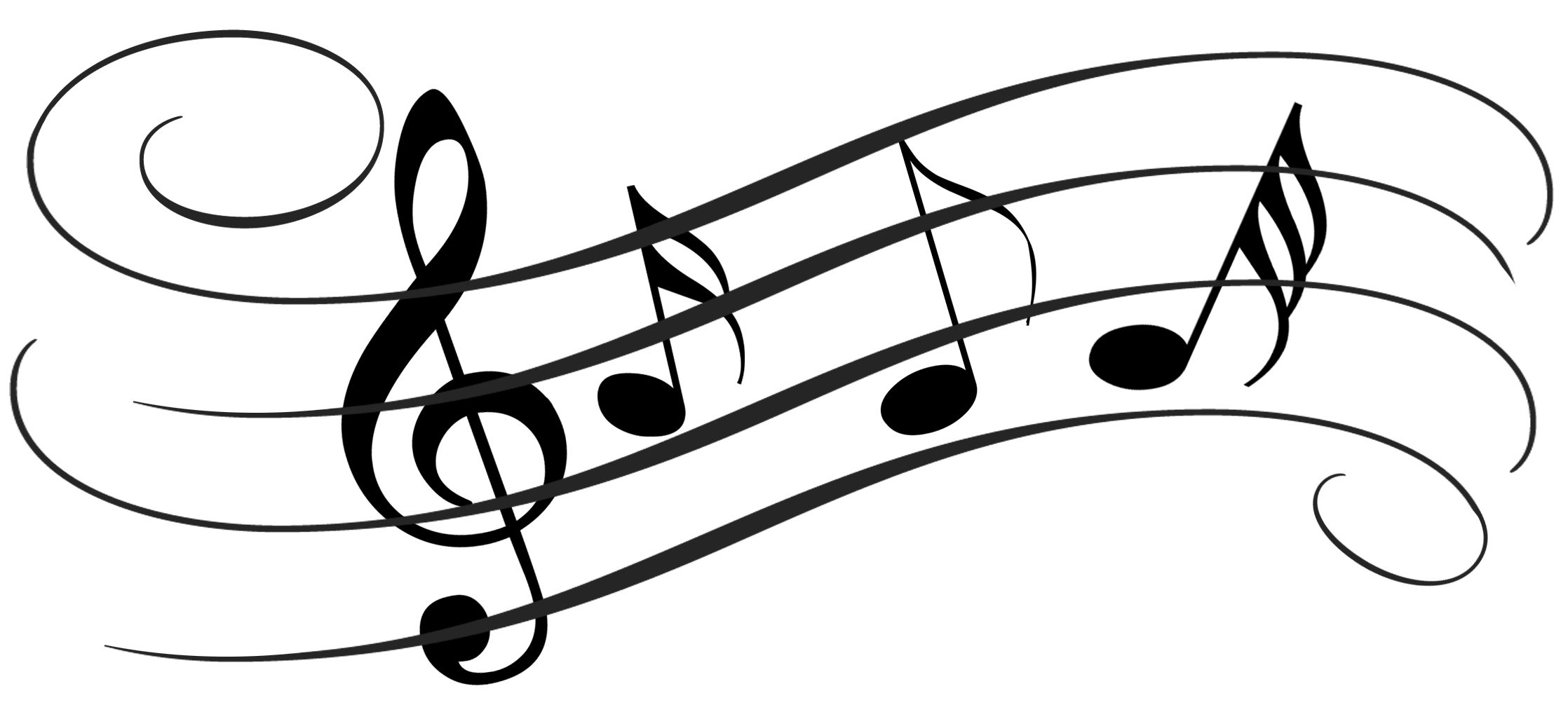 Music clipart.  collection of notes