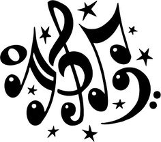 Musical clipart.  best free music