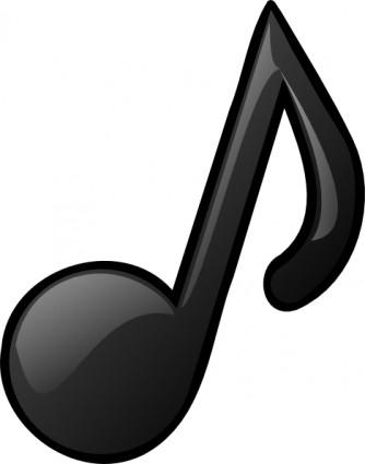 Notes panda free images. Music clipart