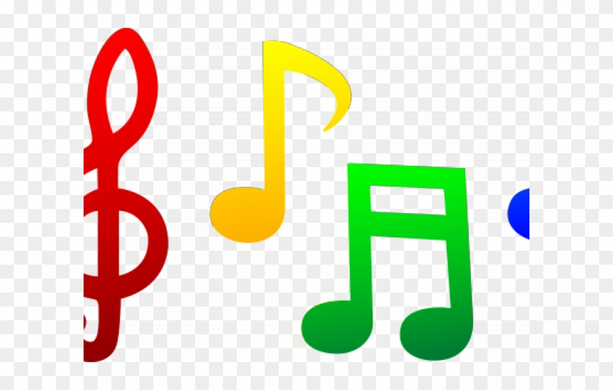 Notes template of . Musical clipart music performance