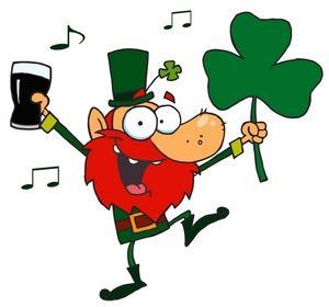 Image an irish man. Music clipart st patricks day