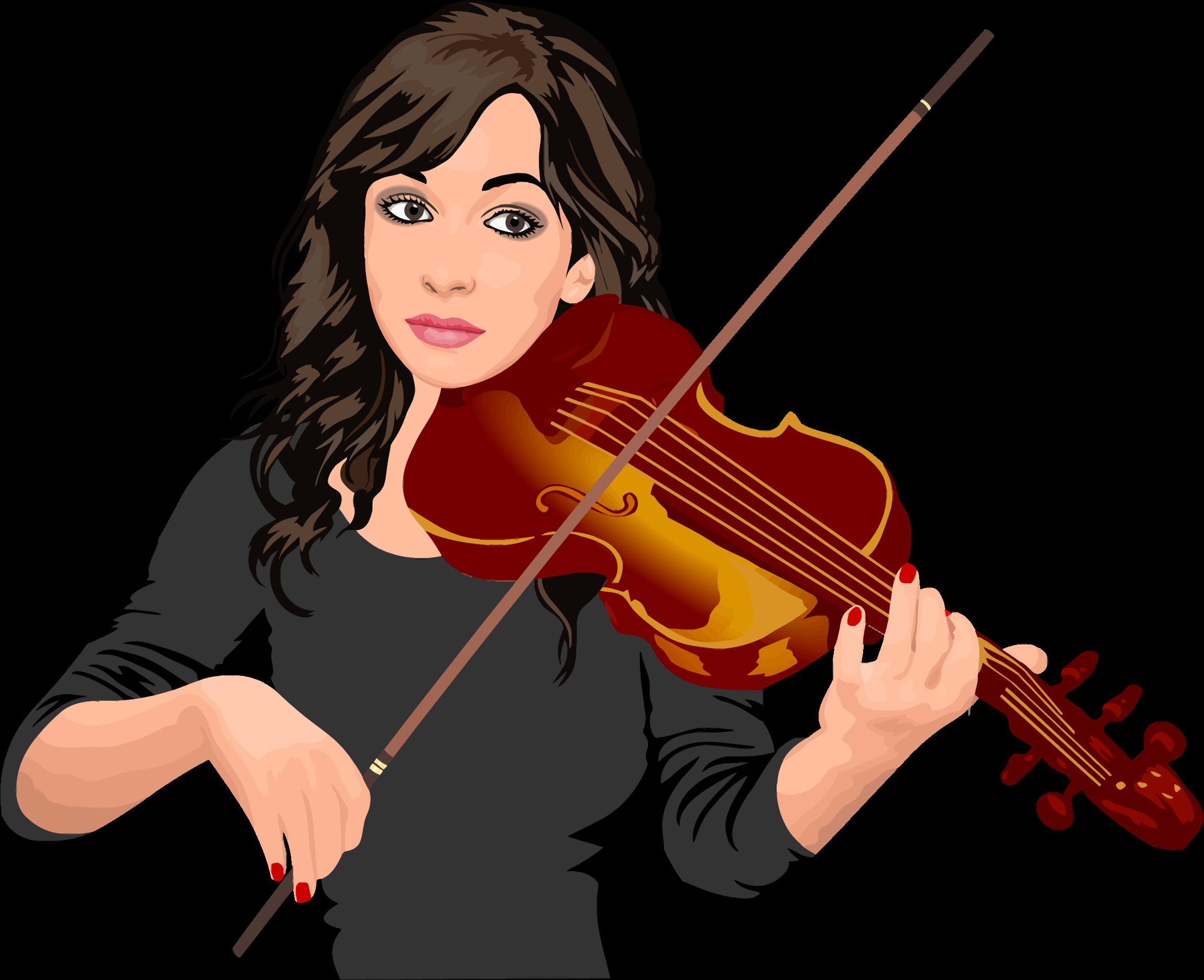 music clipart violin