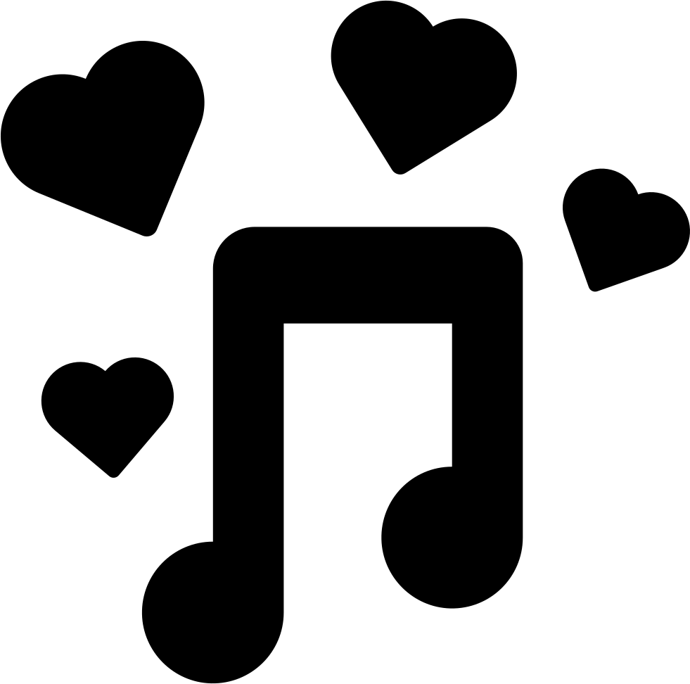 Music icon png. Romantic svg free download