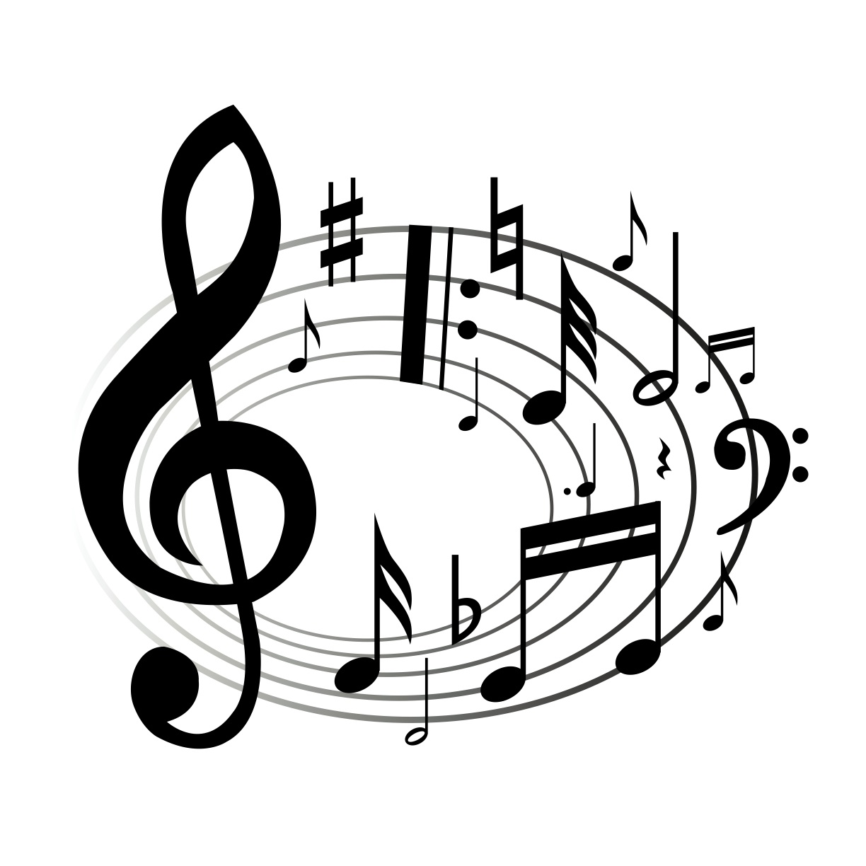 Free celebration cliparts download. Musical clipart music history