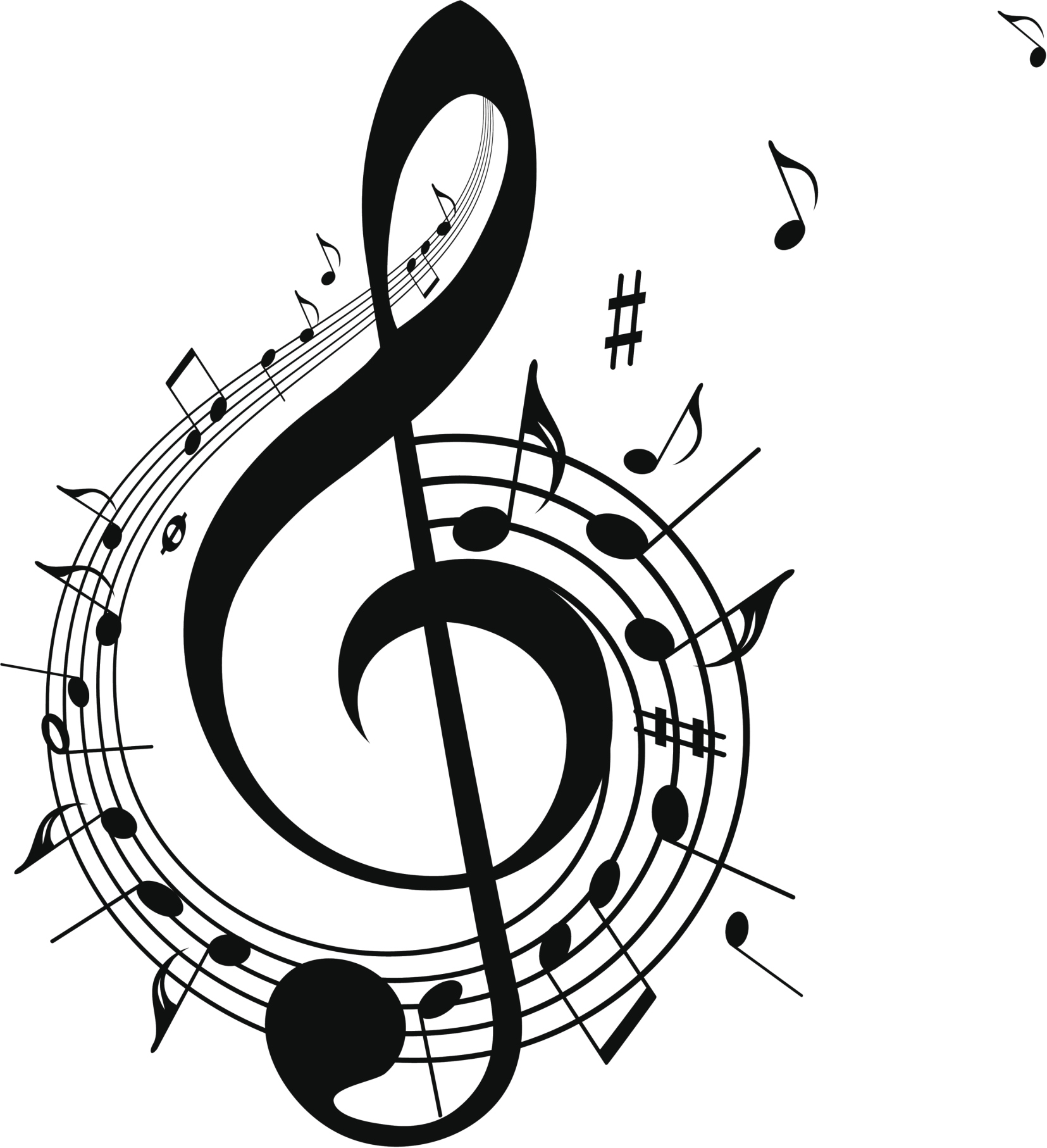 Musical clipart music history. Albion historical society presents