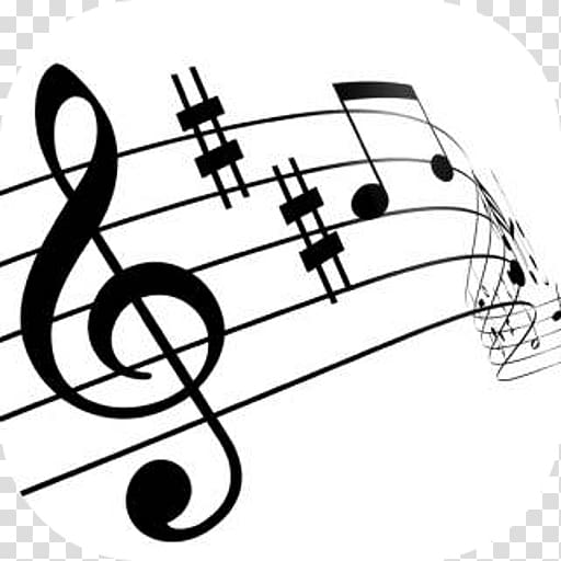 Musician melody note transparent. Musical clipart music theory