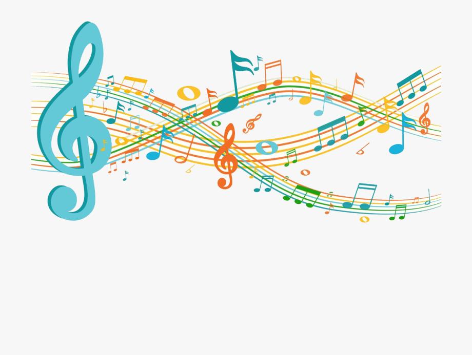 Musical music clip art. Note clipart sheet