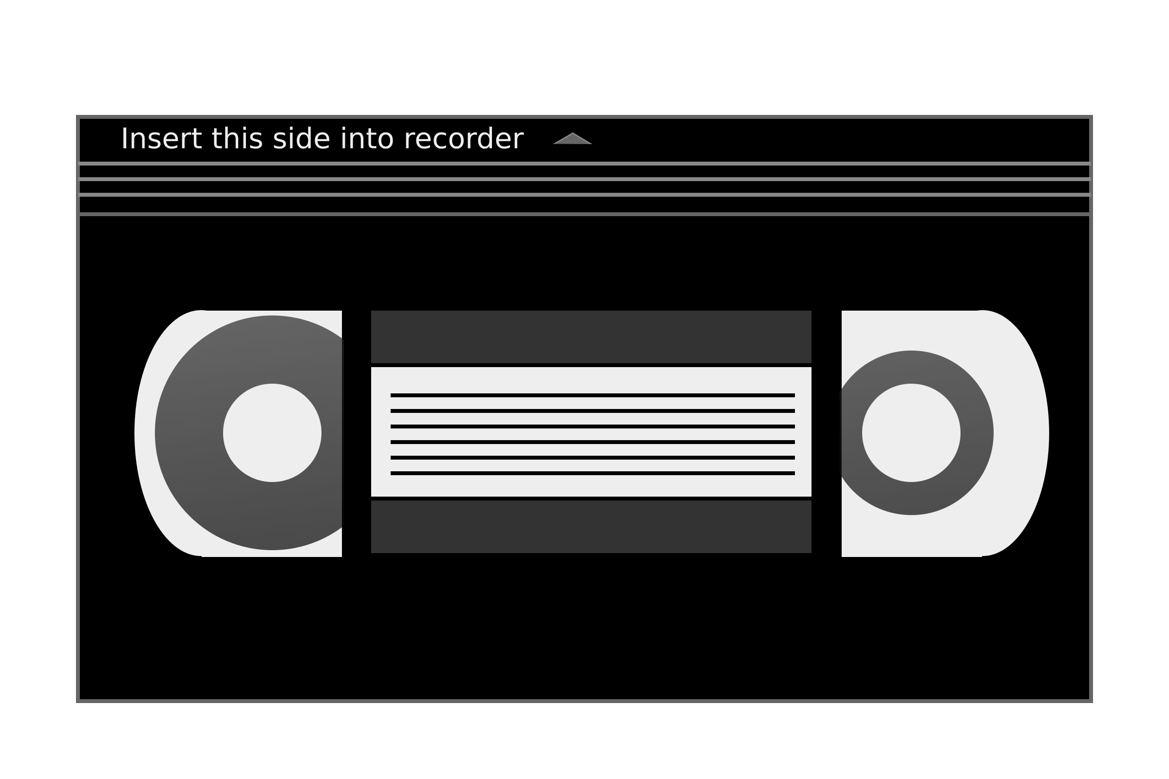 Video clipart video cassette. Tape png black and