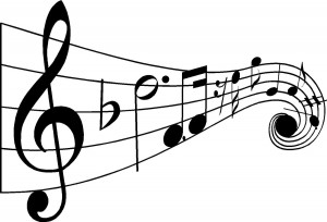 Music notes panda free. Musical clipart