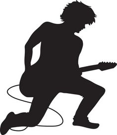 Musician clipart. Gallery for jazz silhouette