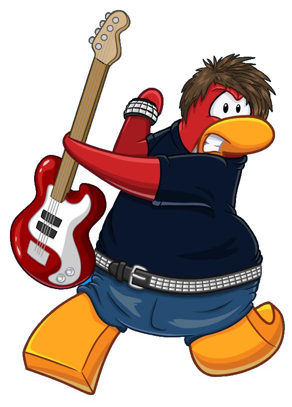 Musician clipart band member. Penguin club wiki fandom