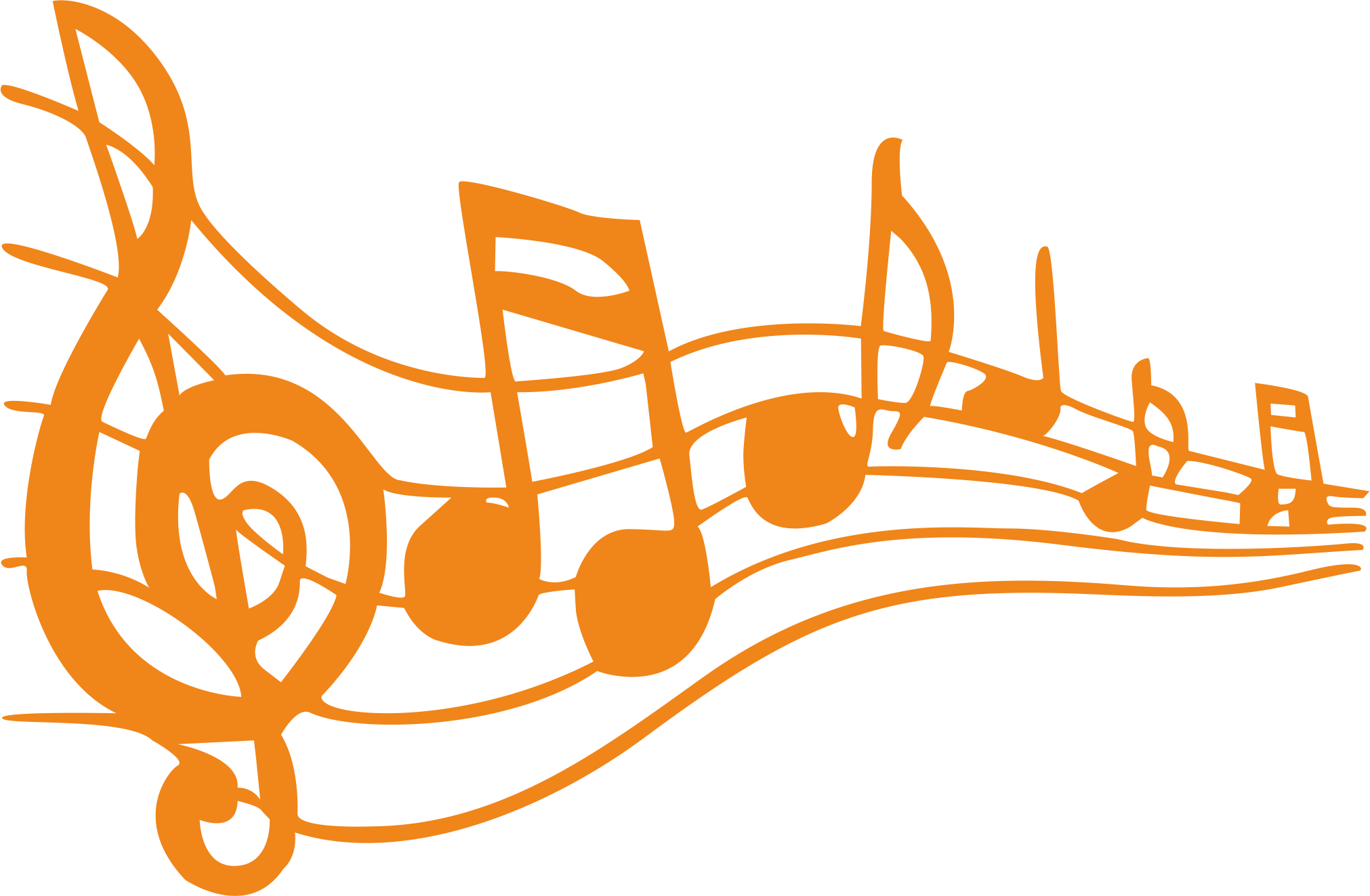 Musical note free content. Musician clipart boy singer