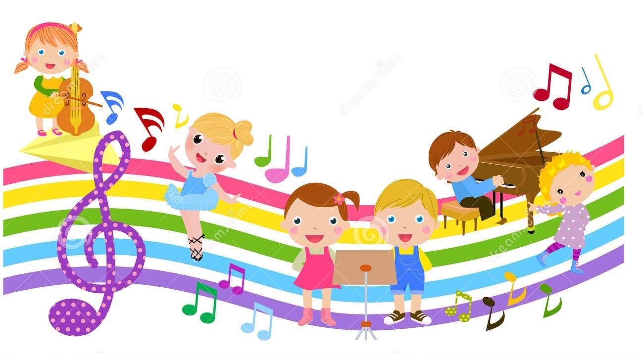 Dreamstime com cute kids. Musician clipart children's