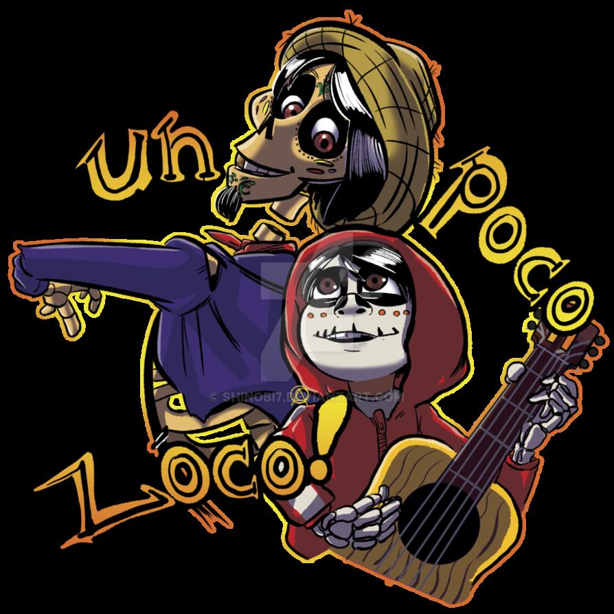 Un poco loco finished. Musician clipart movie coco