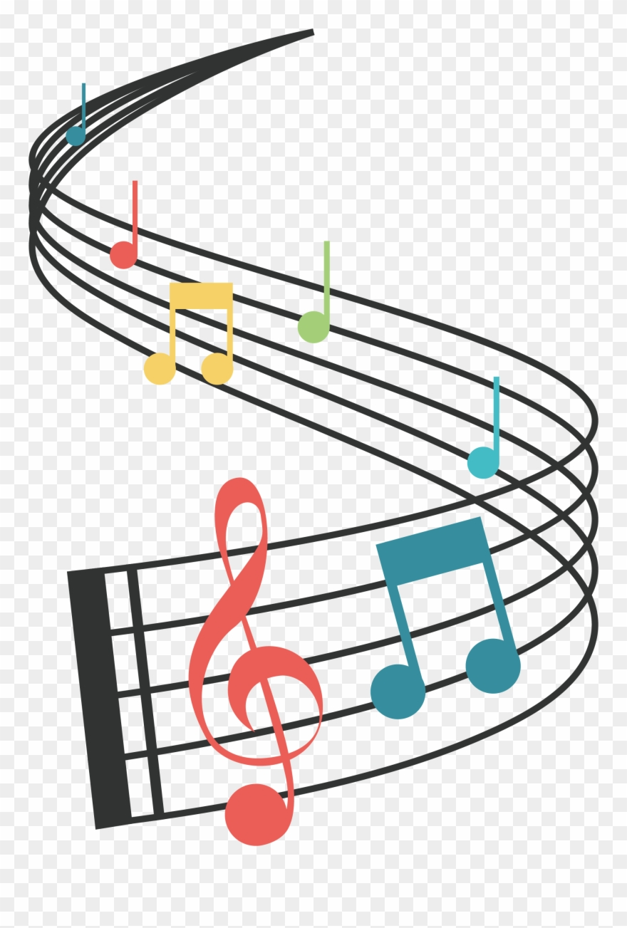 Musical note png . Musician clipart music staff notes
