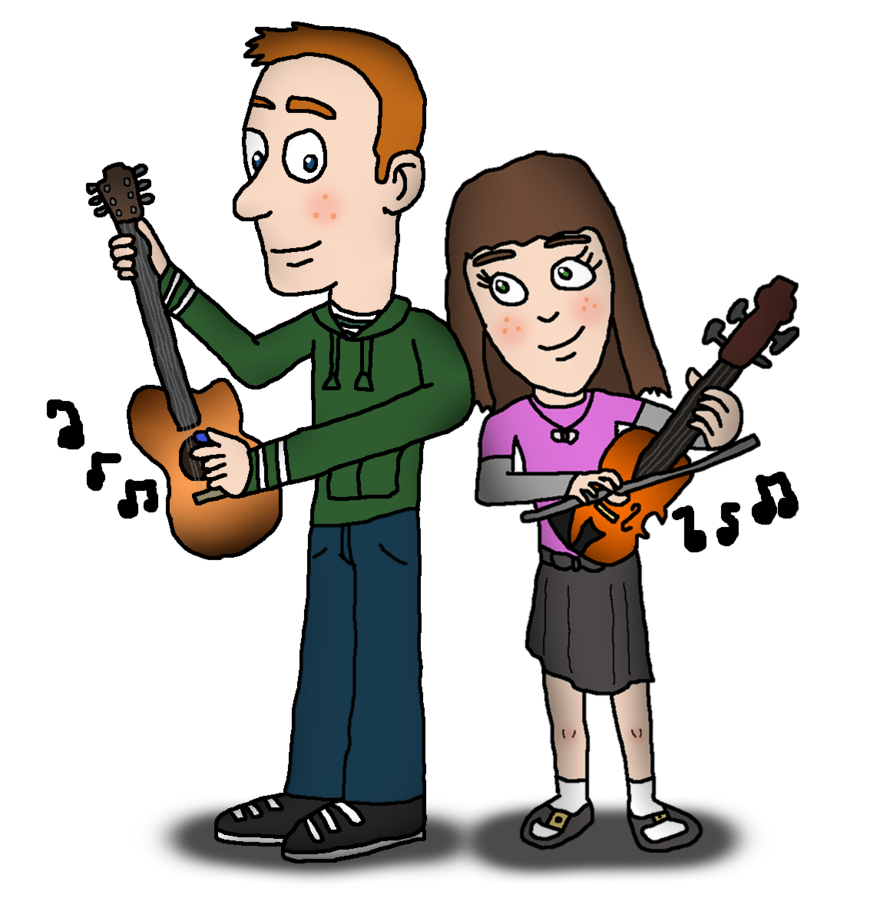Musician clipart music theme. My contest entry human