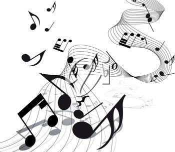 Music note clip art. Musician clipart musical director