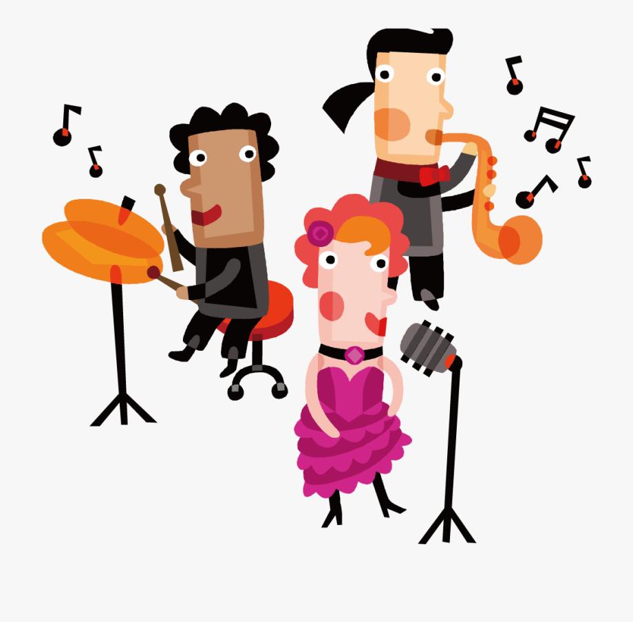 Musician clipart musical performance. Ensemble clip art happy